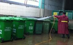 Tăng giá thu gom, vệ sinh thùng rác công cộng