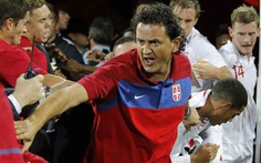 U-21 Serbia tấn công đội U-21 Anh