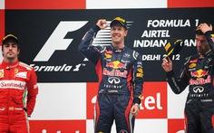 Kỳ tích của Vettel sau Grand Prix Ấn Độ
