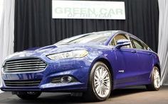 """Ford Fusion là """"xe xanh"""" của năm"""