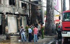 TP.HCM: cháy ngân hàng, trung tâm điện máy