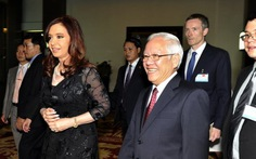 Tổng thống Argentina thăm TP.HCM
