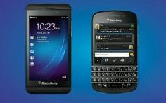 Ra mắt Smartphone BlackBerry Z10 và BlackBerry Q10