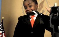 """""""Tổng thống nhí"""" da đen: Đừng buồn chán"""