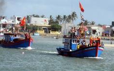 Ngư dân Sa Huỳnh đầu năm tiến ra biển Đông