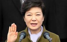 """Nữ tổng thống Hàn Quốc: """"Hạnh phúc cho dân"""""""