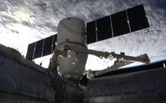 Tàu vũ trụ tư nhân kết nối ISS thành công