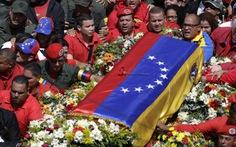 Người dân Venezuela đẫm lệ tiễn đưa ông Chavez