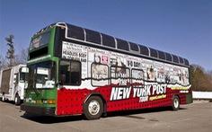 Tour du lịch xe buýt theo tin nóng trên báo