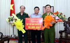 Vụ sát hại 5 người tìm trầm: Quảng Trị thưởng ban chuyên án 50 triệu đồng