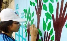 Cải tạo khuôn viên trường xanh - sạch - đẹp