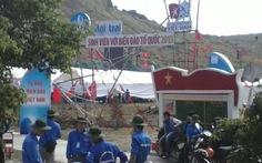 900 sinh viên dự trại trên đảo Lý Sơn