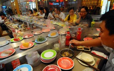 Nhà hàng Nhật mọc khắp nơi