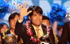 """""""Quả bóng vàng Việt Nam 2012"""": Quốc Anh và Kiều Trinh"""