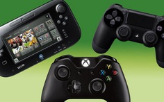 So sánh cấu hình Xbox One, PlayStation 4, Nintendo WiiU
