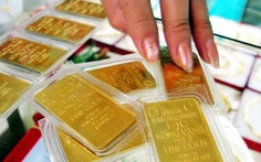 Vàng mua vào giảm nửa triệu đồng/lượng
