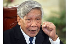 Nguyên Tổng bí thư Lê Khả Phiêu nói về bỏ phiếu tín nhiệm