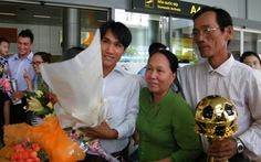Đà Nẵng đón Quả bóng vàng VN 2012 trở về