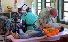 Không lực Hoa Kỳ hoạt động nhân đạo ở Quảng Bình