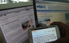 Thanh tra Bộ làm việc với các trang tin vi phạm bản quyền
