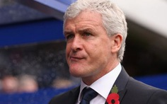 Mark Hughes dẫn dắt Stoke City