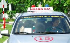 Cận cảnh thi sát hạch giấy phép lái xe ngày đầu đổi mới