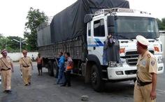 Sáu ngày bắt 350 xe quá tải