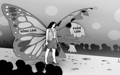 Mang bướm lên sân khấu, lần sau xin nhớ...!