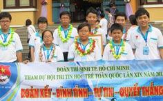 Đội TP.HCM đoạt giải nhất Hội thi tin học trẻ toàn quốc