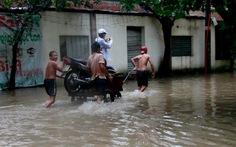 Dân Hà Nội xuống phố bắt cá, sửa xe