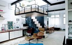Tiết kiệm không gian với phòng ngủ treo trên trần nhà