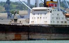 Panama: Tàu chở vũ khí của Triều Tiên vi phạm lệnh trừng phạt LHQ