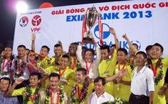 Kết thúc V-League 2013: SHB Đà Nẵng đoạt ngôi á quân