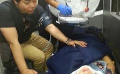 Ca sĩ Quang Lê, Lam Anh bị trọng thương