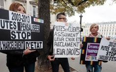 Pháp muốn tăng phạt người mua dâm