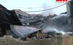 Xem clip: Cháy lớn tại Cụm Tiểu thủ Công nghiệp ở Đức Thọ