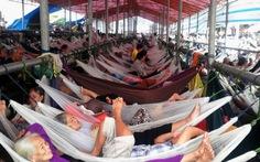 Trại võng miễn phí trong lễ hội Nguyễn Trung Trực