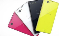 Sony giới thiệu smartphone phiên bản mini Xperia Z1F