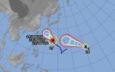 Lại xuất hiện bão đôi trên Thái Bình Dương