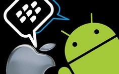 Ứng dụng nhắn tin BBM tiếp cận iOS, Android