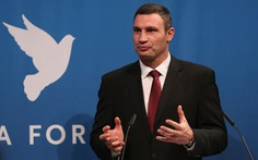 Vitali Klitschko chính thức tranh cử tổng thống Ukraine