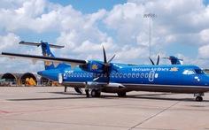 Tìm thấy bánh máy bay ATR-72 trong một mương nước