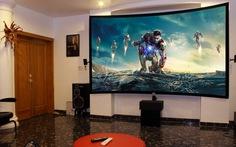 Chọn thiết bị hình ảnh cho phòng chiếu phim tại nhà