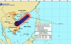 Bão Krosa sẽ thành áp thấp nhiệt đới trên biển
