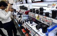 Thị trường máy ảnh nghẹt thở bởi smartphone