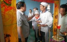 Phó thủ tướng Hoàng Trung Hải kiểm tra lũ lụt ở Bình Định