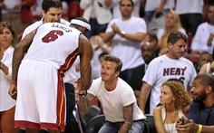 LeBron James muốn hùn vốn với Beckham làm bóng đá