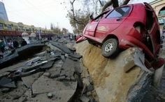 Trung Quốc: đường ống dẫn dầu nổ tung đường, 44 người chết
