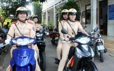 Ra mắt tổ cảnh sát giao thông nữ TP Phan Thiết