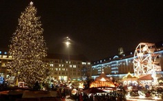 Dạo chợ Noel truyền thống châu Âu